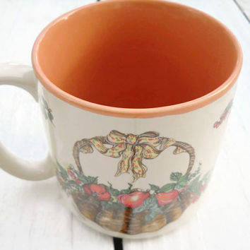 Vintage 1989 Potpourri Press Made in Korea Coffee Tea Cup Mug -Rare Collectible Potpourri Press Mug -