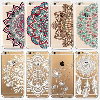 HENNA DREAM CATCHER Phone Cases for Apple iPhone 5 5S SE 6 6S Plus 6Plus