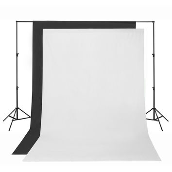 Square Perfect SP2750 Premium Photography Backdrop Stand For Background Muslins
