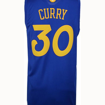 ADIDAS MENS STEPHEN CURRY GOLDEN STATE WARRIORS CHRISTMAS DAY SWINGMAN JERSEY