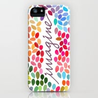Imagine [Collaboration with Garima Dhawan] iPhone Case by Galaxy Eyes | Society6