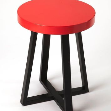 Bram Modern Round End Table Multi-Color