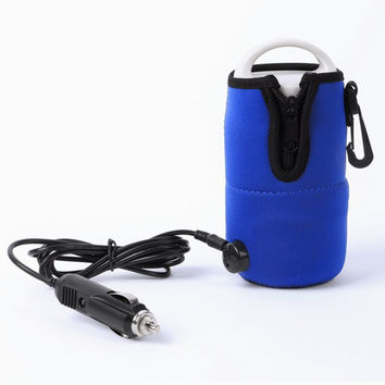 Portable DC 12V in Car Baby Bottle Heater Portable Food Milk Travel Cup Warmer Heater NW