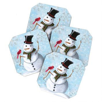 Madart Inc. Winter Cheer 1 Coaster Set