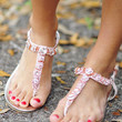 Diamonds Are A Girls Best Friend Sandals | Hope's