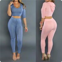 Summer Style Rompers Womens Elegant Bodysuit Sexy Outfits Pants Bodycon 2 Pcs Set Jumpsuits Hat Playsuit Overalls For Women