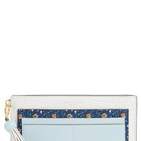 Tory Burch Colorblock Leather Wallet | Nordstrom