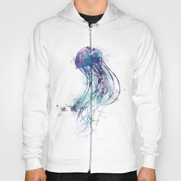 Jellyfish Hoody by monnprint