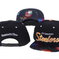 Pittsburgh Steelers Cap Snapback Hat - Ready Stock