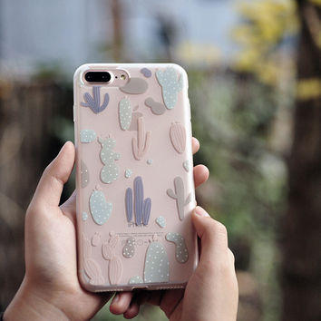 Nature View Pattern Clear iPhone Cases Transparent TPU Phonecases iPhone 6 6S Plus 7 7 Plus [11208634639]