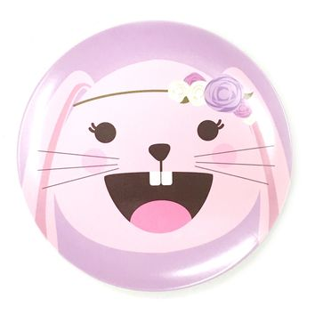 Bunny Food Face Plate