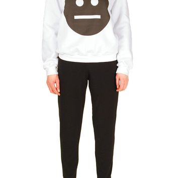 SOOP SOOP Neutral Crewneck, White