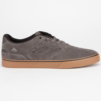 Emerica The Reynolds Vulc Mens Shoes Grey/White/Gum  In Sizes