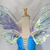 Painted Azarelle Iridescent Fairy Wings in your custom colors