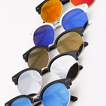 Contemporary Mirrored Shades (+ Colors)