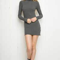 ADALIE TURTLENECK DRESS