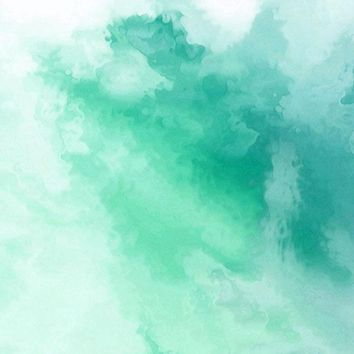 Printed Watercolor Green Ripple Textured Backdrop - 6958