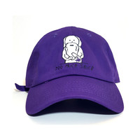Future Uzi Vert Yachty 21 Savage too much sauce lean purple dad cap hat