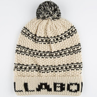 Billabong Max Beanie White Combo One Size For Women 24778216701