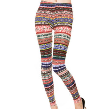 Scream and Shout Knit Leggings