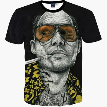 Fear & Loathing in Las Vegas (Johnny Depp / Hunter S. Thompson) 3D T-Shirt