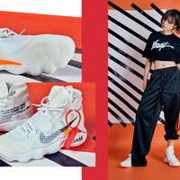 Best Online Sale The 10 : OFF WHITE x Nike React Hyperdunk 2017 Flyknit OW Sport Running Shoes Sneaker