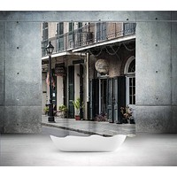 Charters Street New Orleans Shower Curtain