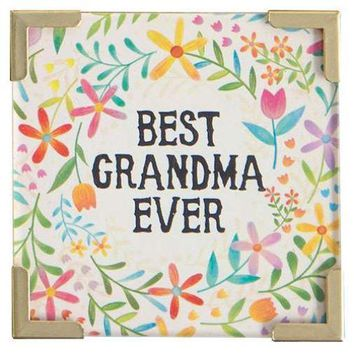 Best Grandma Ever Magnet By Natural Life