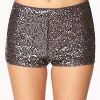 Shine Bright High-Waisted Shorts