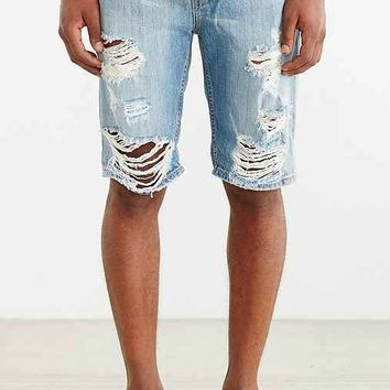 Levi's Tangled Blues Destructed Short