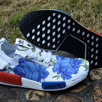 "Women ""Adidas"" NMD Boost Trending Fashion Printing Leisure Running Sports Shoes"