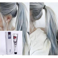 DANESI GOON COLOR HAIR CREAM LIGHT GRAY COLOR Permanent Super Hair Dye 100ml = 5658500609