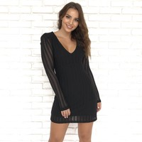 Midnight Dance Little Black Dress