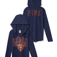 Chicago Bears Tunic Hoodie - PINK - Victoria's Secret
