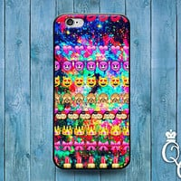 Cute Emoji Collage Phone Cover Funny Custom Case iPod iPhone 4 4s 5 5s 5c 6 Plus