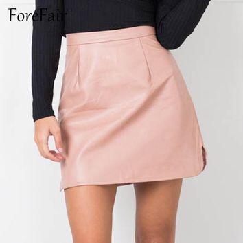 Material Girl 80s Leather Skirt