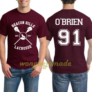 dylan o'brien shirt beacon hills lacrosse teen wolf tshirt