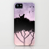 Cat King iPhone Case by Belle13 | Society6