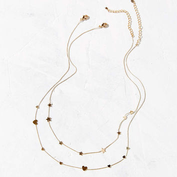 Dainty Love Necklace Set - Urban Outfitters