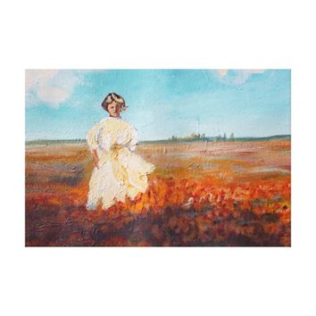 California Poppies in Antelope Valley Canvas Print