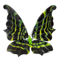 Glass Butterfly Hand-Blown Collectible  Figurine (code 189)