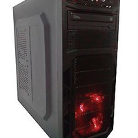 Custom Gaming PC Desktop Computer 3.2GHz Dual Core CPU 250GB HDD 4GB RAM Budget