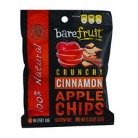 Bare Fruit All Natural Crunchy Apple Chips - Fuji Red - 15 G - Case Of 12