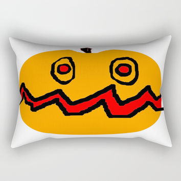 Citrouille 01 Rectangular Pillow by Zia