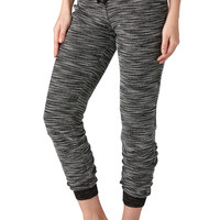 Spacedye French Terry Jogger Pants - Black