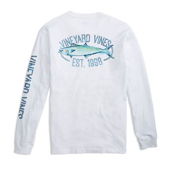 Long-Sleeve Clean Catch Pocket T-Shirt