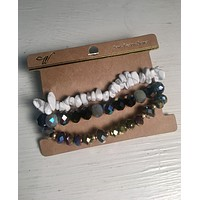 Stackable Stone Bracelets