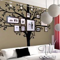 Wall decal Family Tree   Nursery Wall Decal by wcookie on Etsy