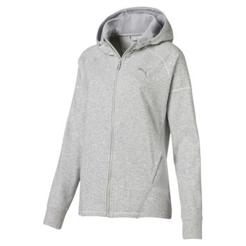 Yogini Womens Full Zip Jacket | Light Gray Heather | PUMA Jackets Outerwear | PUMA United States