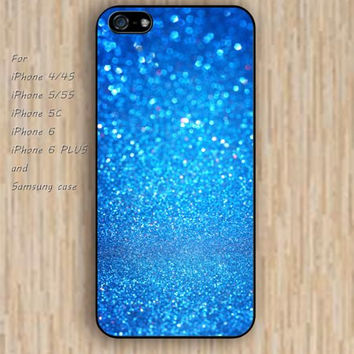 iPhone 5s 6 case blue glitter dream catcher colorful phone case iphone case,ipod case,samsung galaxy case available plastic rubber case waterproof B589